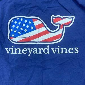 Vineyard Vines Flag Whale Ladies T-shirt